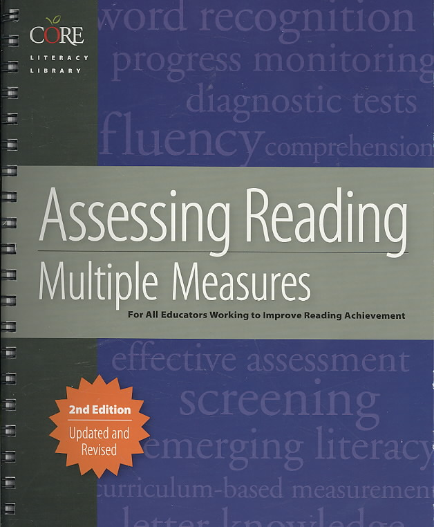 Assessing Reading By Diamond, Linda (EDT)/ Thorsnes, B. J. (EDT)/ Lenchner, Orna (CON)/ Milone, Michael (CON)/ Mahler, Jacalyn (CON)